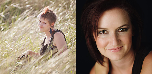 before and after professional headshot examples