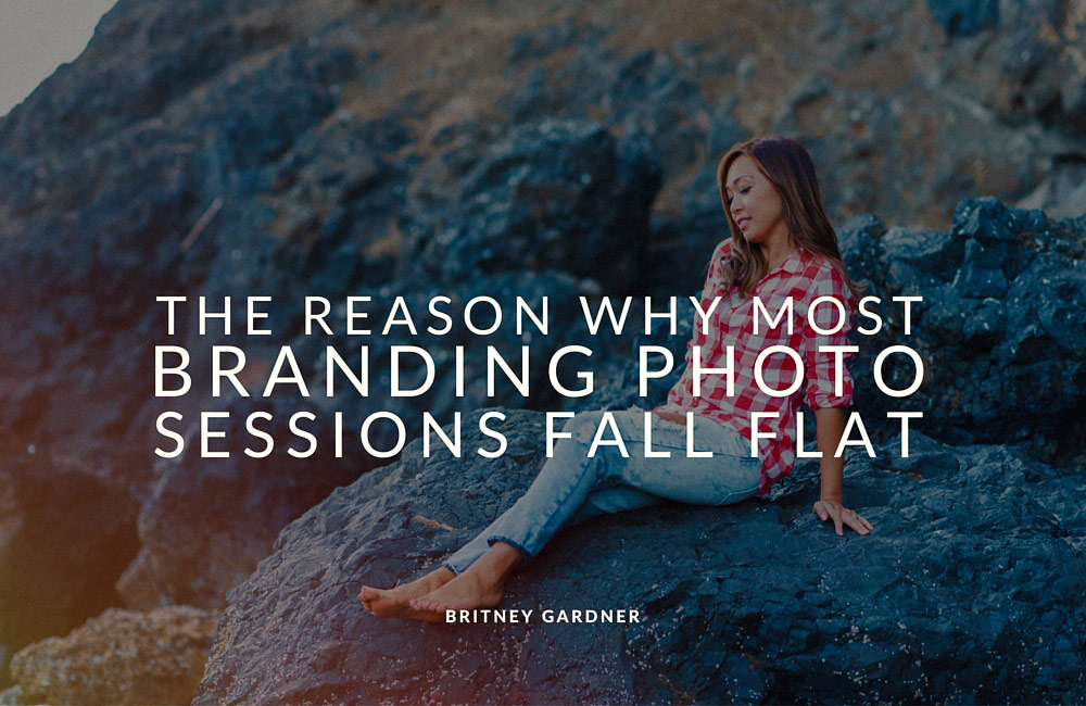 the reason most personal branding photography sessions fail