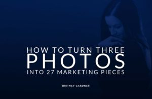 how to use only three images for a complete branding strategy