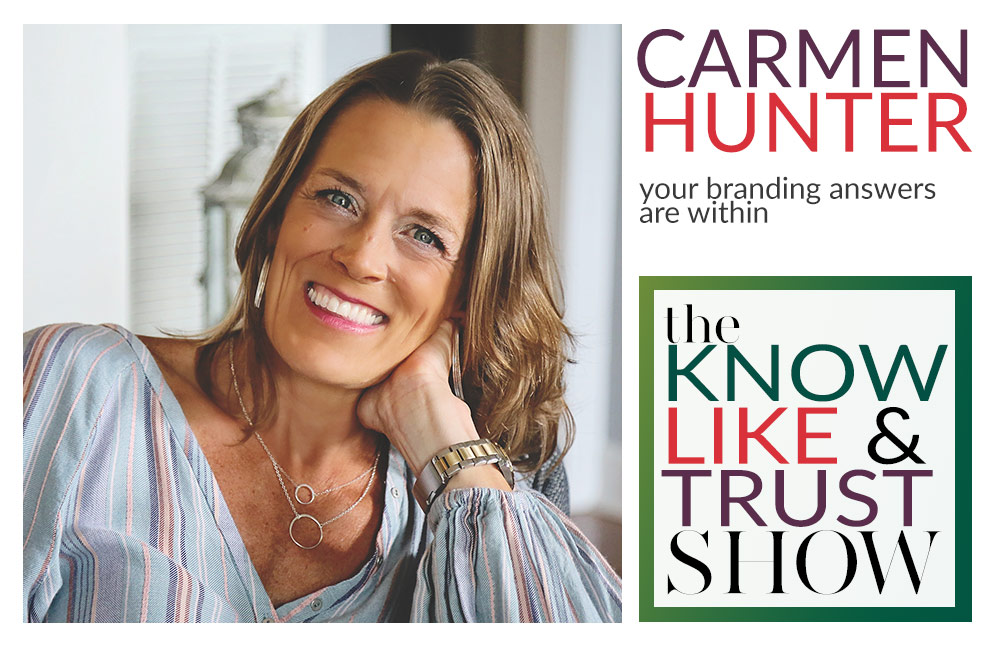 carmen hunter on rebranding