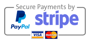 stripe and paypal secure payments