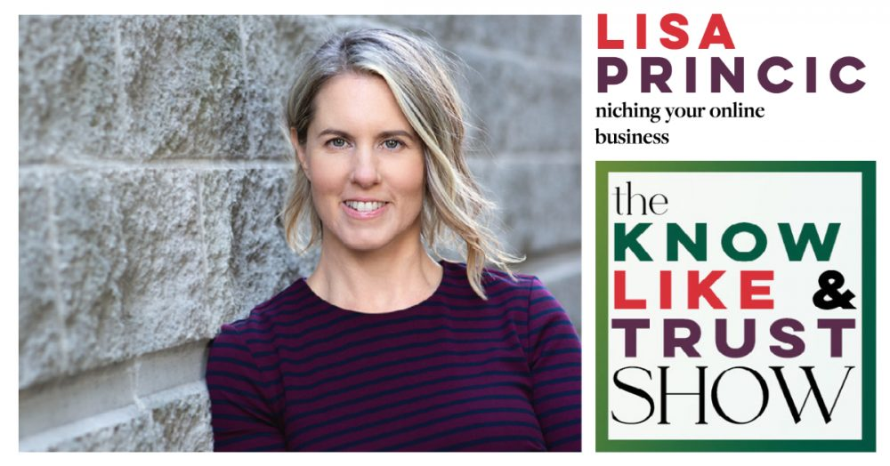 niching your online business with lisa princic